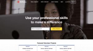 Catchafire website
