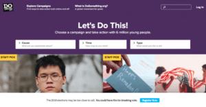 DoSomething website