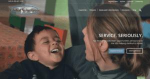 Global Volunteers website