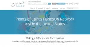 HandsOn Network website