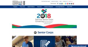 Senior Corps website