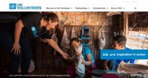 UN Volunteers website