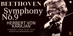 """Beethoven's Symphony No 9 in D minor Op 125 """"Choral"""" herbert von karajan"""
