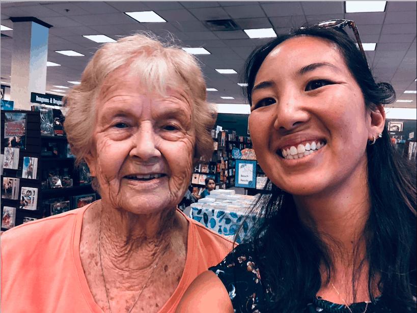 AnnaBelle Marshall, 92 with life coach Cyn Meyer