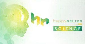 happyneuron personalized brain training website screenshot