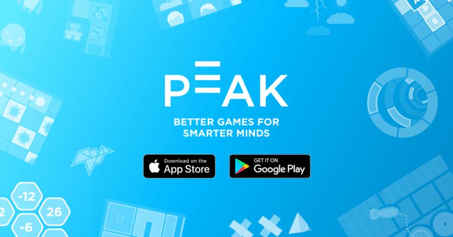 peak brain games app logo