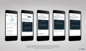 fitbit health dashboard screen