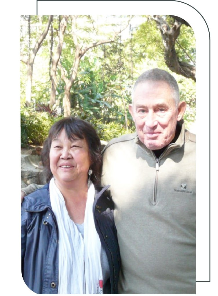 Cyn Meyer's grandparents